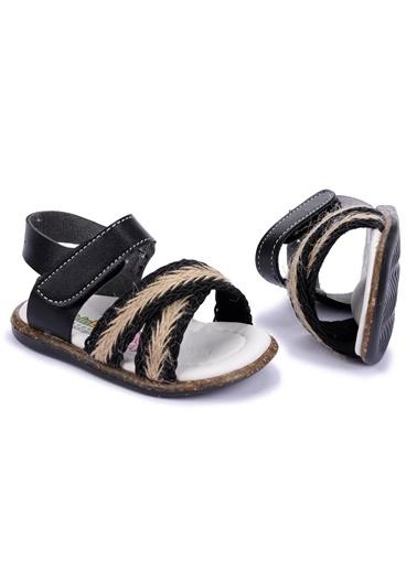 Kiko Kids Bebek Ayakkabısı Siyah